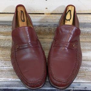 Vintage men's Crockett and Jones loafers size 11